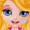 Baby Barbie Summer Glittery Tattoo