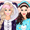 Barbie Winter PJ Party thumb