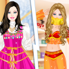 Barbie As Princess Japanese Russian Arabian And Indian thumb