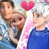 Elsa Leaving Jack Frost