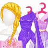 Rapunzel's Perfect Purple Dress thumb